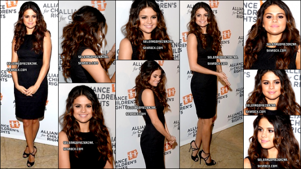 "07/04/14 - Selena s'est rendue au dîner annuel de l'association "" Alliance For Children's Rights "" à Beverly Hills. Que pensez-vous de la tenue de Selena ? Top ou Flop ?"