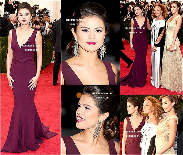 *05/05/14. Selena sortant de son hôtel Ritz à NY. Ensuite Sel' présente au Charles James : Beyond Fashion met Gala 2014, à New York City. Top ou Flop ?
