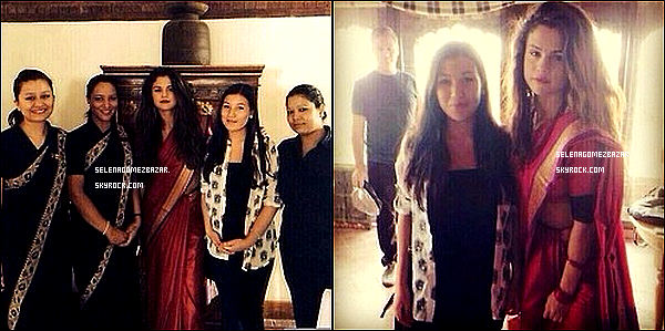 24/05/14. Selena était, comme depuis quelques jours, au Népal pour l'UNICEF. Le 23, elle était avec des fans du Népal, elle a aussi été visité une école.Top ou Flop ?