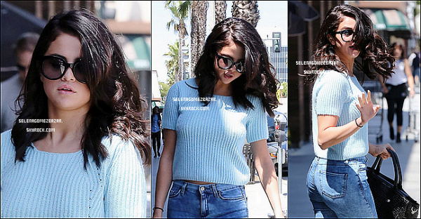 *16/06/14. Selena arrivant dans un centre commercial à Studio City. Top ou Flop ?