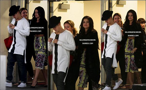 """*20/06/14. Selena dinait avec Justin Bieber au Restaurant """"Mastro's"""" à Beverley Hills en Californie. Top ou Flop ?"""