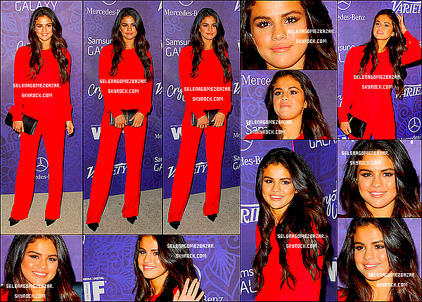 "*23/08/14. Selena était au ""Variety And Women in film host 2014 PRE-EMMY Party. Top ou Flop ?"