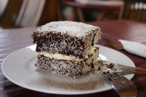 #NourritureEnAustralie #7 #Le Lamington