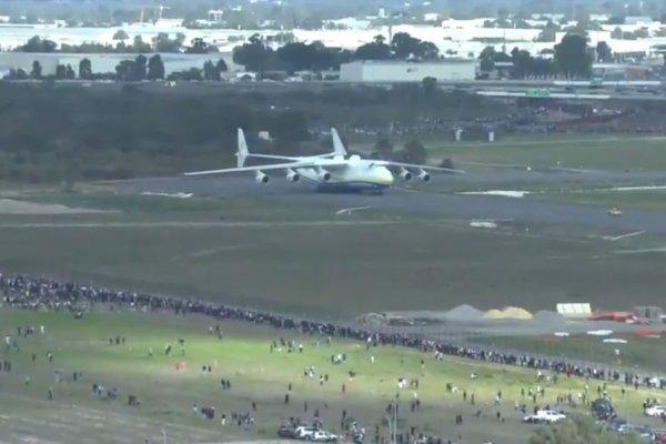 #Actu : Atterrissage remarqué du plus gros avion du monde en Australie