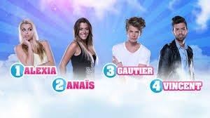 Les quatre finalistes de la Saison 7 !!!!