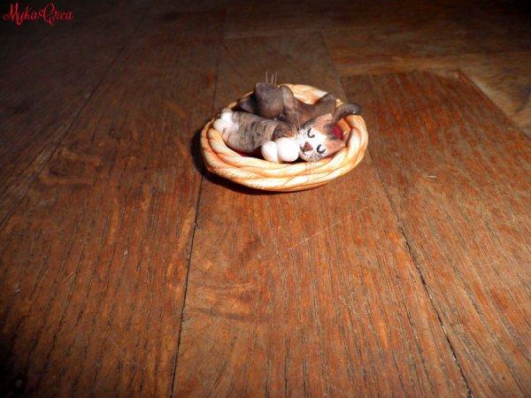 Figurine de mes chats! :)