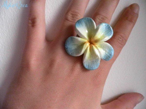 Bague fleur de tiaré