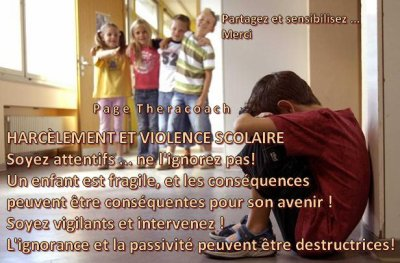 Agir contre le HARCELEMENT