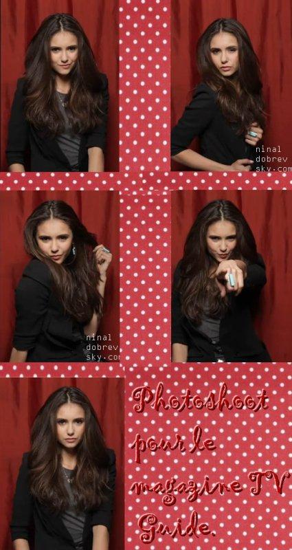 Le 30.03.2011:Nina vient de faire un photoshoot pour le magazine TV Guide aux USA .  Vous en pensez quoi ?