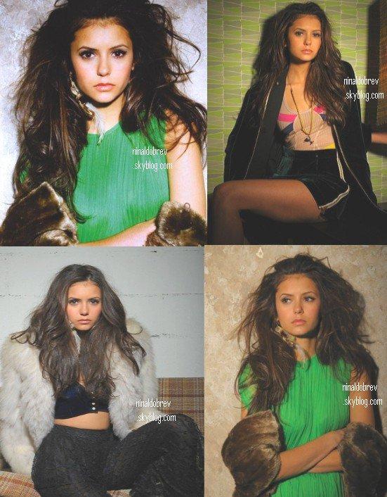 Le 15/06/2011: Un nouveau photoshoot de Nina fait par le photographe H. Hartwig ! Que pensez vous des photos ?