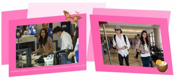 Le 10/07/2011: Pleins de news aujourd'hui, tout d'abord Nina était à un photoshoot (photos de sa pause) puis elle s'est dirigée en présence de Ian à l'aéroport de LAX pour prendre l'avion direction le tournage de TVD saison 3 & pour finir Nina sera la représentante du Project Pink contre le cancer du sein ! Alors que pensez vous des photos ?