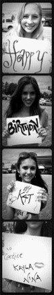 """Le 07/09/2011: Nous attendons tous avec impatience le tout premier épisode de la saison 3 et bien là je vous propose deux stills, non pas de l'épisode 1 mais de l'épisode 2 """"The Hybrid"""" & de plus Candice, Kayla et Nina ont faire un p'tit cadeau, via Twitter, à Katherina Graham pour son anniversaire où au passage je lui souhaite un excellent anniversaire !!! Alors qu'en pensez vous ?"""