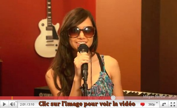 The Edge of Glory- Lady Gaga (cover) Megan Nicole. Chanson coup de ♥.
