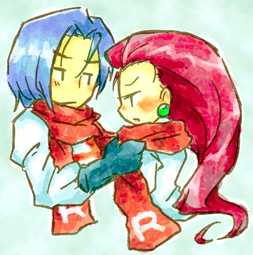 Musashi x Kojiro (Jessie x James)