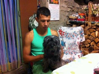 moi et ma chienne