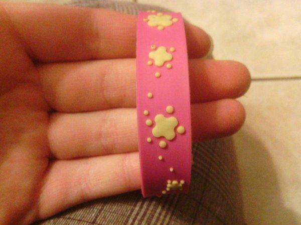 Lot de bracelets plastique/silicone enfant