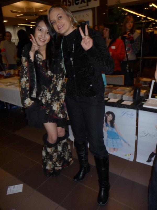Yuuki et moi