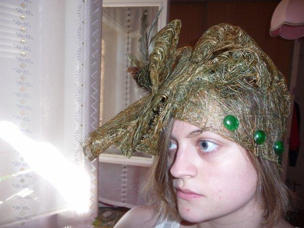 un chapeau que j'ai créer il y a longtemps