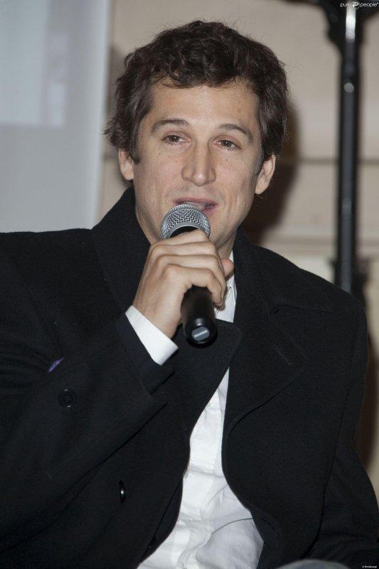Guillaume Canet à la conférence de presse des Gucci Masters 2013 aux Salons France Amériques de Paris, le 18 novembre 2013.
