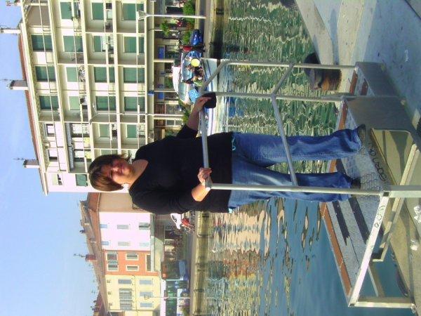 vive les vacances loool 1er monté en bateaux