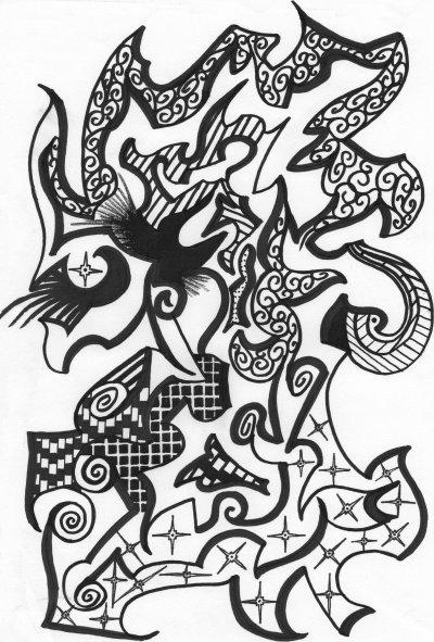 je me met à l'art abstrait :p