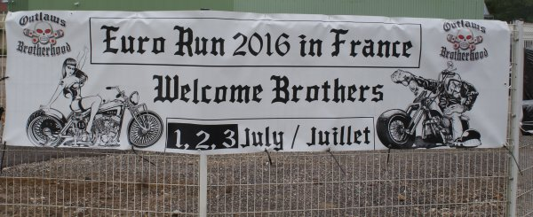 Outlaws mc europe euro run 2016