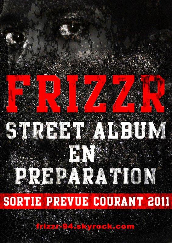 EN STUDIO POUR LA PREPARATION DE MON STREET ALBUM............