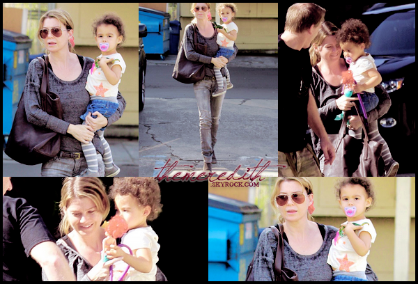 ellen ________18.02.2012 _______ ↪ Ellen et sa fille Stella ont été vues quittant le Cafe Joan's, après le déjeuner.______________________________  #Top ou Flop ?   ellen
