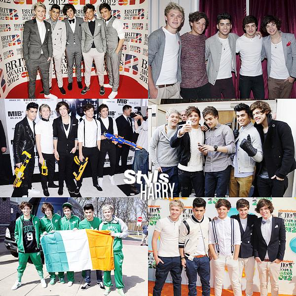 Article spécial ; aujourd'hui nous fêtons les 2ans du groupe One Direction !
