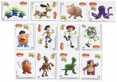 """PITCH""""TWINCARDS TOY STORY3"""""""
