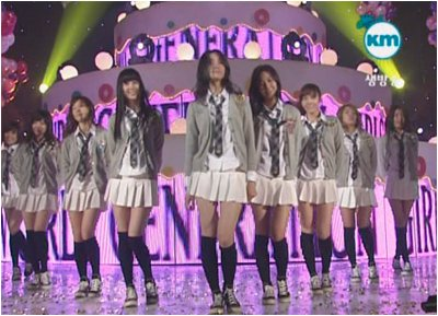 Live 071011] SNSD - Into The New World Mnet [MCount Down