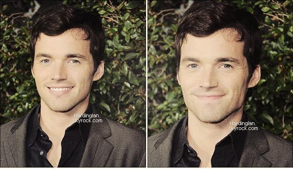 """01/05/2012 : Ian et le cast de PLL à l'évènement """"ABC family West Coast Upfronts""""."""