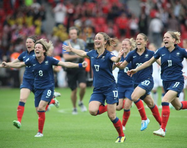 EQUIPE DE FRANCE DE FOOTBALL FEMININ <3