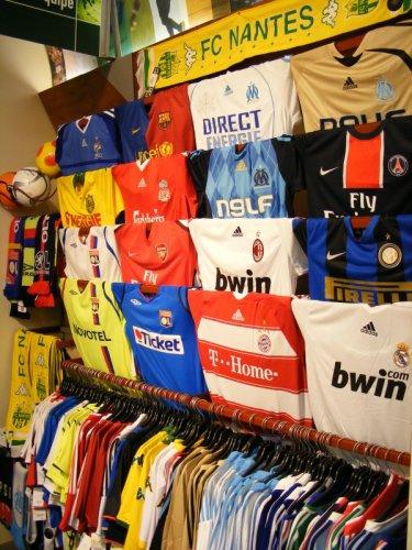 !!! Tous les Maillots de foot  des championnats Européen et grandes équipes- saison 2009-2010 !!!