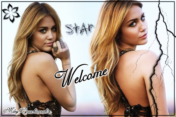 Welcome sur ce blog Miley Cyrus
