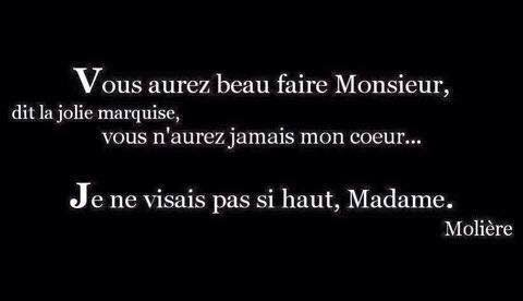 Ahhh Molière....