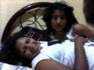 mommy and meeeeeeeeeeeee muy despeinanda