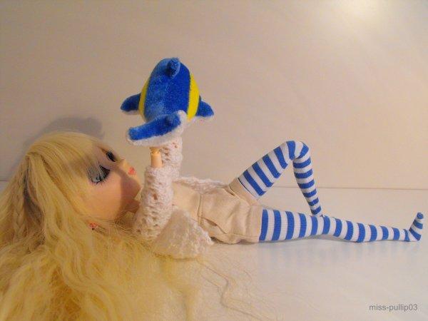 Sabrina voit bleu