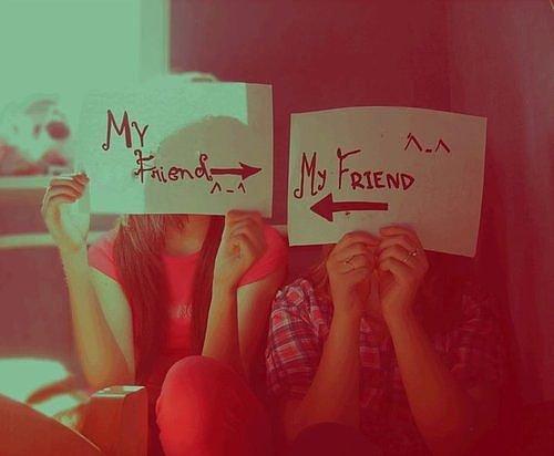Les vrais amis...