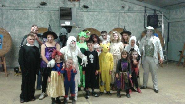 Tir spécial Halloween !