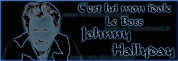 mon idole Johnny