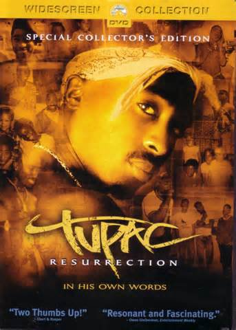 dvd 2pac  résurrection 2003/2004