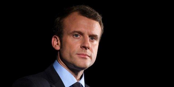 Emmanuel Macron  nouveau  president de la republique
