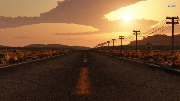 Le programme/ la route/ le chemin