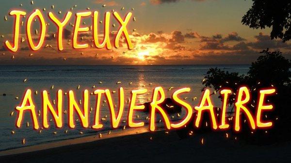 Joyeux anniversaire à mon amie- MonUniversEtMonParadis-
