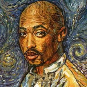 une image du livret de l'album/style Van Gogh