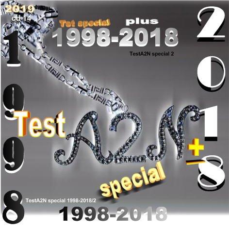TestA2N Special Plus/ août 2020