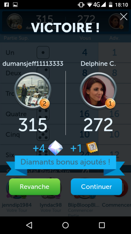 5 Dice Delphine 272 - 315 Jeff Dumans