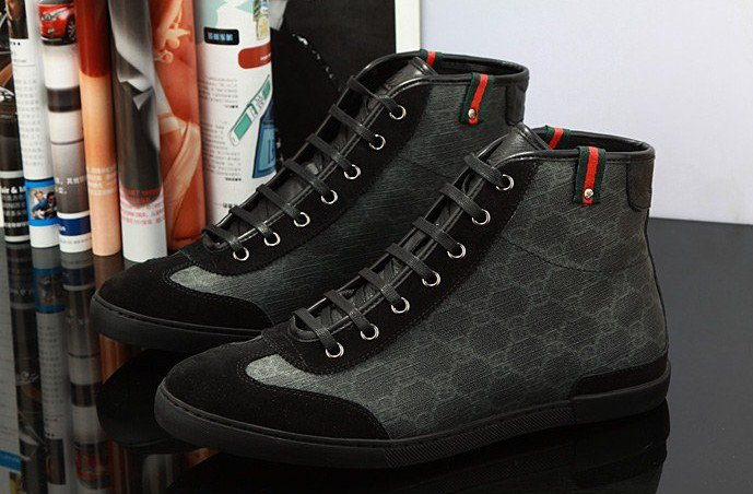 Wholesale 2013 Cheap 1 1 Replicas Mens Fashion Gucci Casual Low