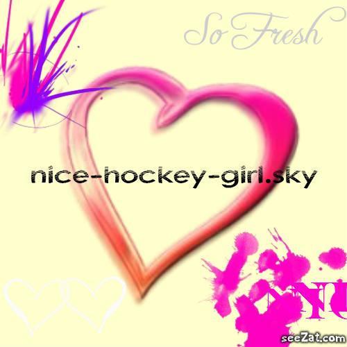 me and hockey !!!